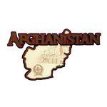 Paper Wizard - Country Maps Collection - Die Cuts - Map of Afghanistan