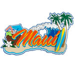 Paper Wizard - Hawaii Collection - Die Cuts - Maui 3