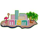 Paper Wizard - Beach Travel Collection - Die Cuts - Miami