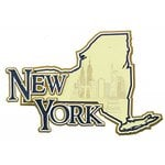Paper Wizard - Altered States Collection - Die Cuts - Map of New York
