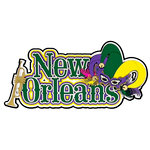 Paper Wizard - Die Cuts - New Orleans Title