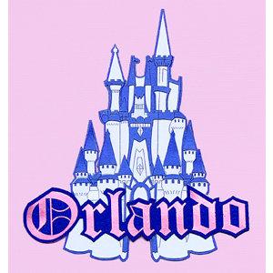Paper Wizard - Disney - Die Cuts - Orlando Castle