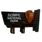 Paper Wizard - National Parks Collection - Die Cuts - Olympic National Park Sign