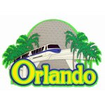 Paper Wizard - Theme Park Fun Collection - Die Cuts - Orlando Tram Title