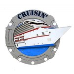 Paper Wizard - Island Paradise Collection - Die Cuts - Porthole Cruisin'