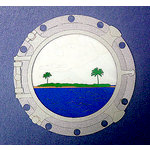 Paper Wizard - Beach City, USA Collection - Die Cuts - Porthole Island
