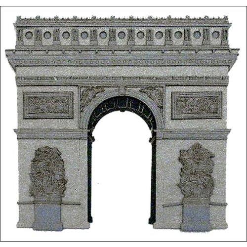 Paper Wizard - Die Cuts - Paris - Arc de Triomphe