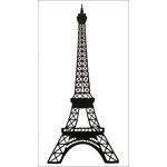 Paper Wizard - Die Cuts - Paris - Eiffel Tower