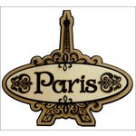 Paper Wizard - Die Cuts - Paris Title
