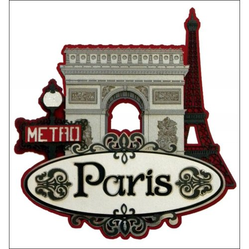 Paper Wizard - Die Cuts - Paris Collage