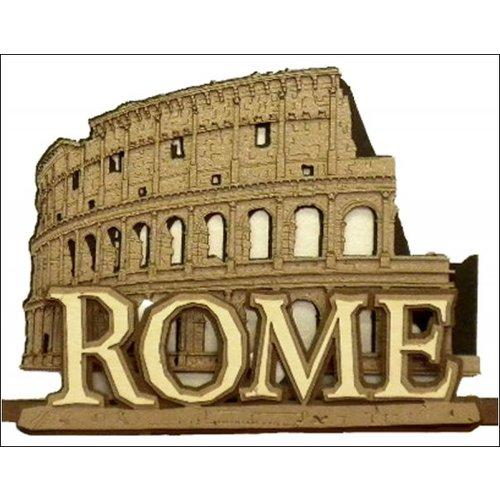 Paper Wizard - Die Cuts - Rome - Coliseum Title