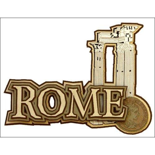 Paper Wizard - Die Cuts - Rome Title