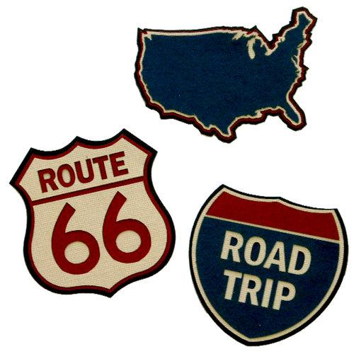 Paper Wizard - Die Cuts - Road Trip Minis