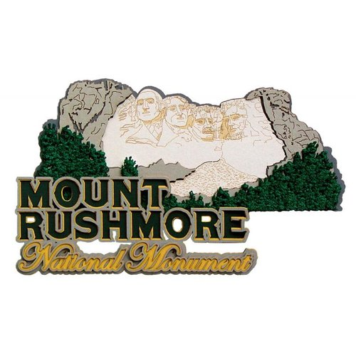 Paper Wizard - National Parks Collection - Die Cuts - Mount Rushmore