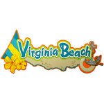 Paper Wizard - Beach City, USA Collection - Die Cuts - Virginia Beach