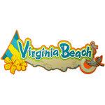 Paper Wizard - Beach City, USA Collection - Die Cuts - Virginia Beach