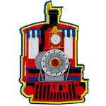 Paper Wizard - Die Cuts - All Aboard - Engine