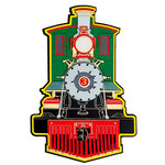 Paper Wizard - Die Cuts - All Aboard Engine - 2018