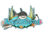 Paper Wizard - Theme Park Collection - Die Cuts - Aquarium Collage