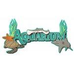 Paper Wizard - Theme Park Fun Collection - Die Cuts - Aquarium