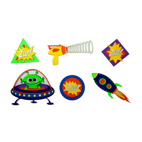 Paper Wizard - Theme Park Collection - Blast Off Minis
