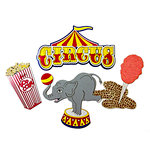 Paper Wizard - Theme Park Collection - Die Cuts - Circus Minis