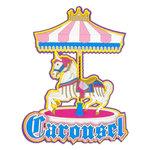 Paper Wizard - Die Cuts - Carousel Title