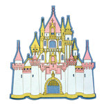 Paper Wizard - Once Upon a Time Collection - Die Cuts - Do You Believe - Castle 1