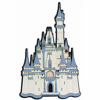 Paper Wizard - Once Upon a Time Collection - Die Cuts - Do You Believe - Castle 2