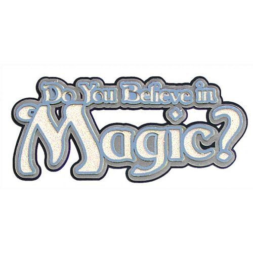 Paper Wizard - Once Upon a Time Collection - Die Cuts - Do You Believe - Title 2