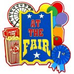 Paper Wizard - Theme Park Collection - Die Cuts - At the Fair