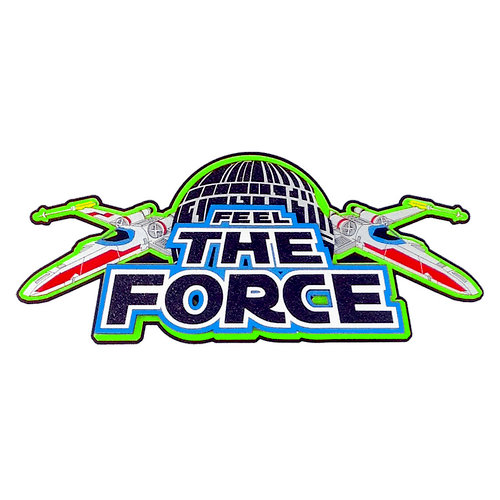 Paper Wizard - Die Cuts - Feel the Force Title