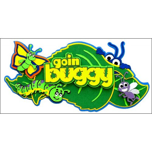 Paper Wizard - Disney - Die Cuts - Goin' Buggy