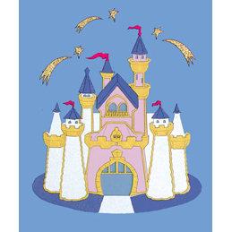 Paper Wizard - Disney - Die Cuts - Golden Castle 1, CLEARANCE