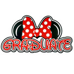 Paper Wizard - Theme Park Collection - Die Cuts - Mousy Graduate