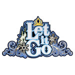 Paper Wizard - Frozen Collection - Die Cuts - Let it Go Title
