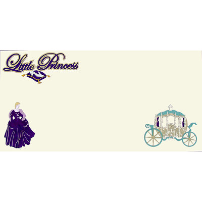 Paper Wizard - Disney - Die Cuts - Little Princess Violet Kit