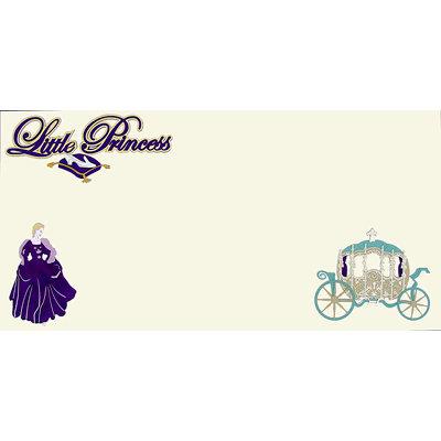 Paper Wizard - Disney - Die Cuts - Little Princess Violet Kit