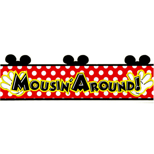 Paper Wizard - Mousin Around Collection - Disney - Die Cuts - Mousin Around Single