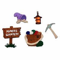 Paper Wizard - Die Cuts - Mine Trains Minis