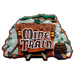 Paper Wizard - Die Cuts - Mine Train Madness Title