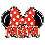 Paper Wizard - Theme Park Collection - Die Cuts - Mousy Mom