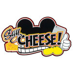Paper Wizard - Theme Park Collection - Die Cuts - Mousy Say Cheese Title