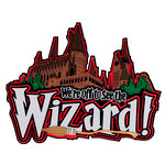 Paper Wizard - Theme Park Collection - Die Cuts - We're Off to See the Wizard Title