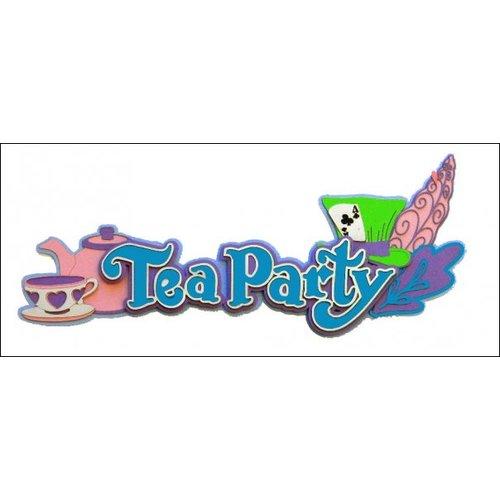 Paper Wizard - Disney - Die Cuts - Tea Party