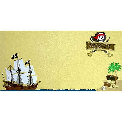Paper Wizard - Disney - Die Cuts - Pirates Kit, CLEARANCE