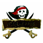 Paper Wizard - Disney - Die Cuts - Pirates Sign