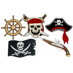Paper Wizard - Theme Park Collection - Die Cuts - Pirate's Life Minis
