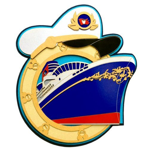 Paper Wizard - Theme Park Collection - Cruisin with the Mouse Porthole