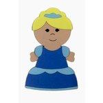 Paper Wizard - Petite Princess Collection - Die Cuts - Petite Princess - Cinder